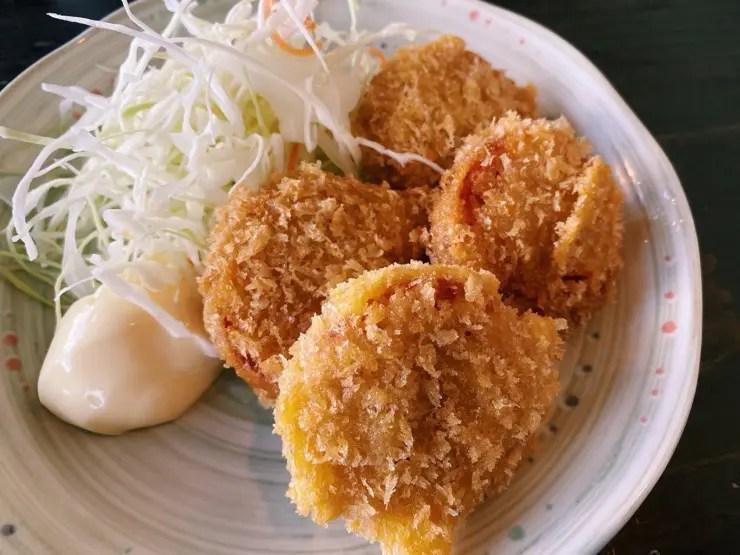 網元食堂の雲仙ハムカツ
