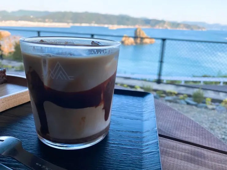 JUNE COFFEEのチョコレートラテ