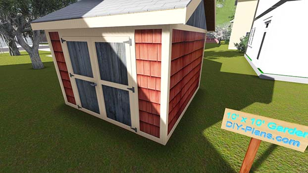 Needed Materials Build Shed 10x10