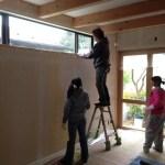 しっくい塗装DIY:所沢の家