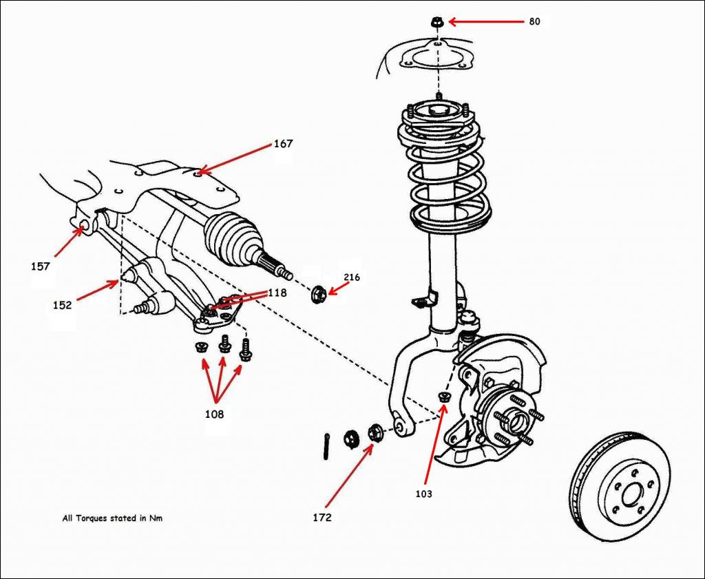Change A 205 Front Driveshaft For Toyota Celica 99