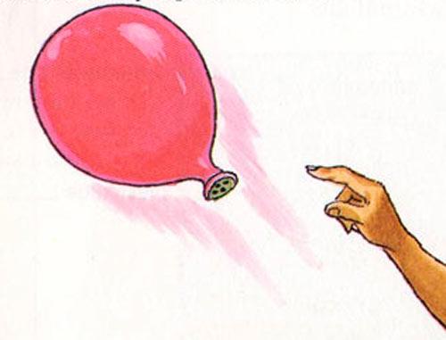 How  to make rocket balloon?