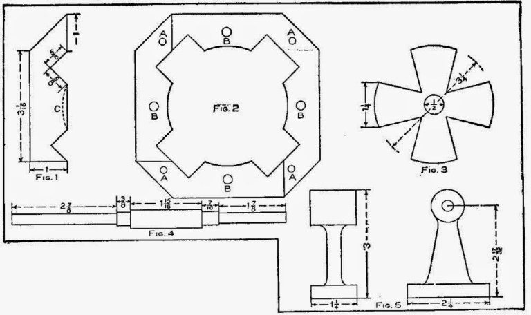 Construction of Single Phase Induction Motor – Excerpt from the book – THE BOY MECHANIC