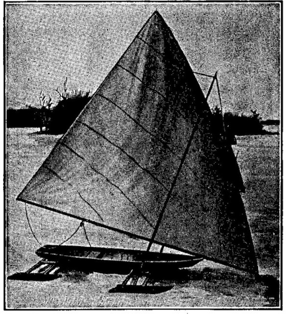 A Four-Runner Ice Yacht