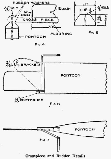 Details of the Pontoons
