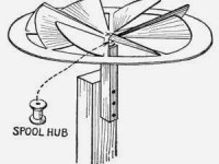 The Pinion-wheel Windmill – Homemade Toys