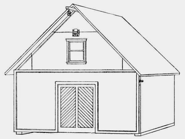 Toy Stable Plans – A Homemade Toy Stable