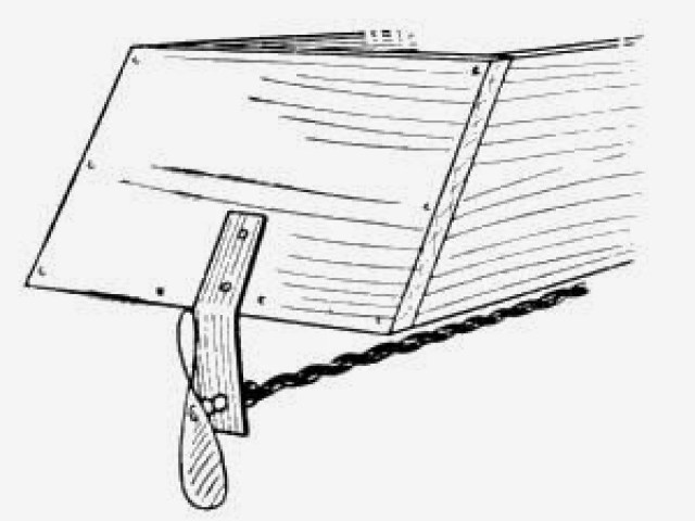 Fig. 50.—Stern, with Motor in Place.