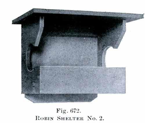 Robin bird house plan No.2