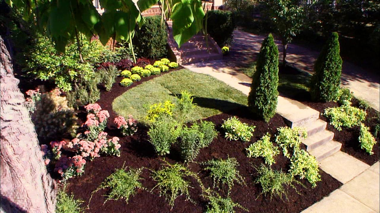Front Yard Landscaping Ideas | DIY Landscaping | Landscape ... on Patio And Grass Garden Ideas id=54076