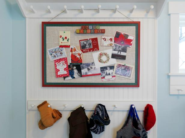 How To Make A Holiday Greeting Card Display DIY