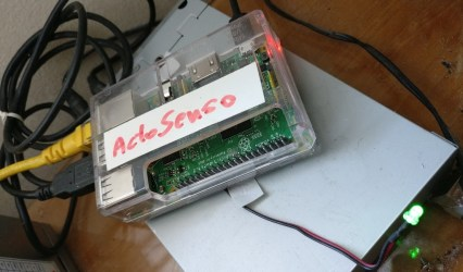 ActoSenso Server – Controlling it all