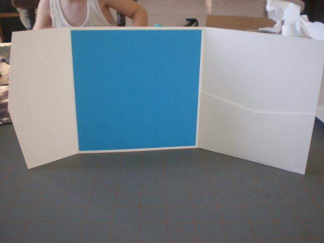 Shimmer Glitter Pocketfold Wedding Invitation Custom Available Pocket Folds