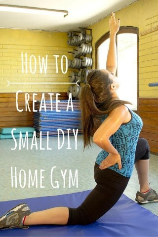 how to create a small diy home gym  diy active
