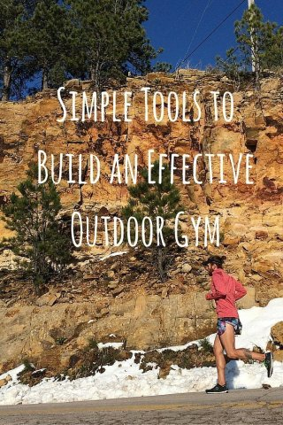 5 Simple Tools to Build an Effective Outdoor Gym