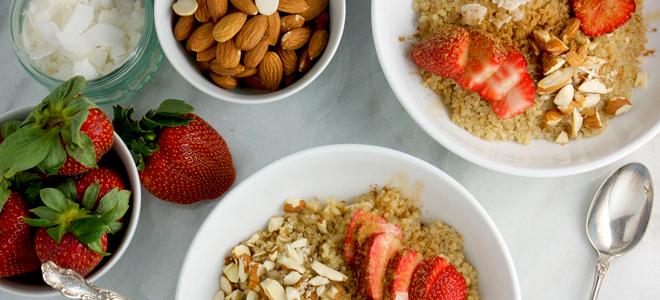 Strawberry Breakfast Bowl