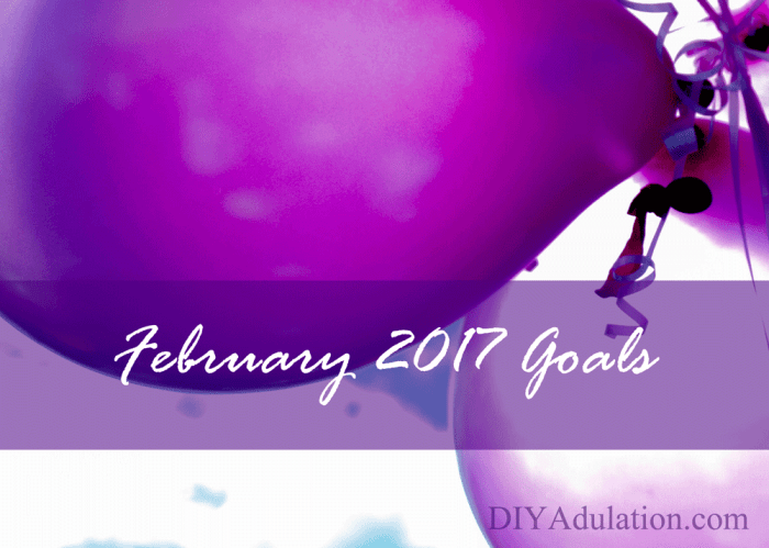 You can be inspired and encouraged to create your future with your goals. Start with your February 2017 goals and start living a life you love!