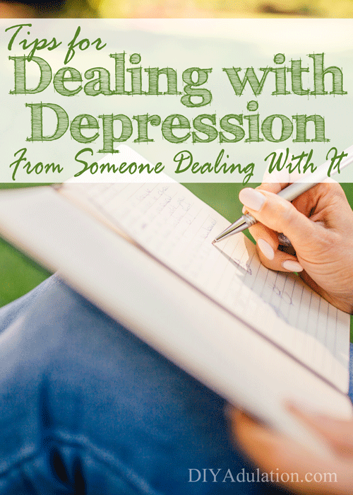Dealing with depression is hard. These tips can help make it easier. When the bad days come you can have tools to get through them.