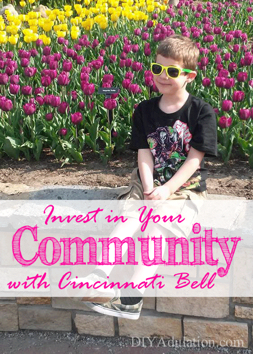 Great communities lead to great people. Find out how you can invest in your community with Cincinnati Bell and make your life easier with Fioptics. #ad #CincyGive