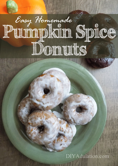 Easy Homemade Pumpkin Spice Donuts