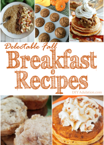 Delectable Fall Breakfast Recipes + MM 174