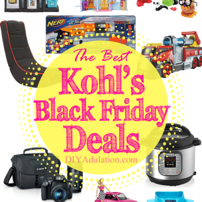 The Best Black Friday Deals at Kohl's 2017