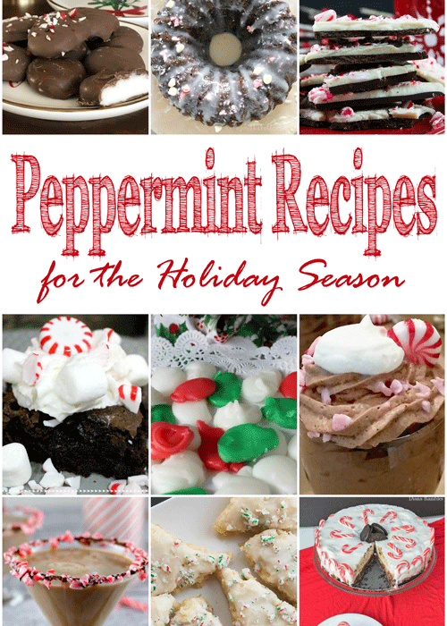 Need a sweet treat or festive cocktail idea? These delicious peppermint recipes for you to kick off the holiday season have you covered!