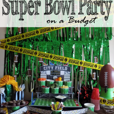 How to Throw a Super Bowl Party on a Budget
