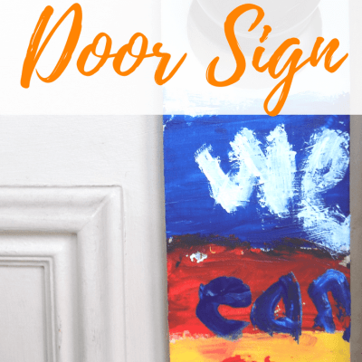 DIY I Can Play Sign | Kids Korner by Jude Craft