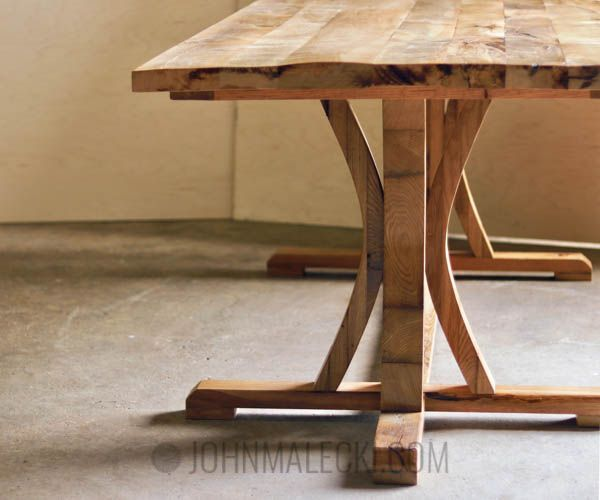 diy furniture curved dining table