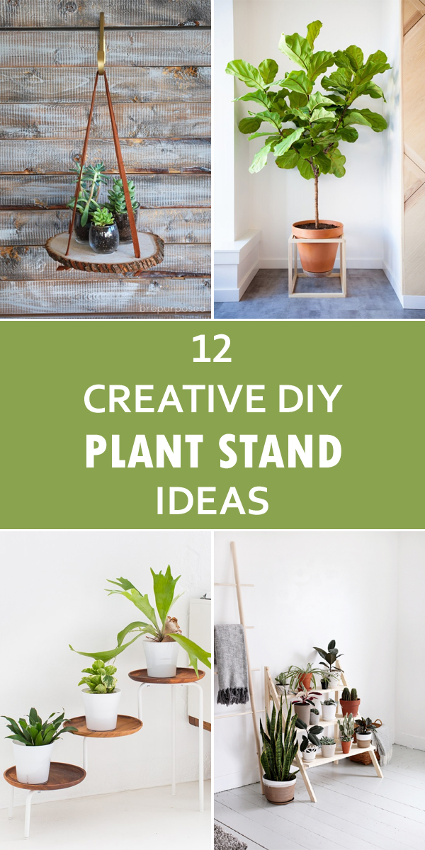 12 Creative DIY Plant Stand Ideas on Plant Stand Ideas  id=48977