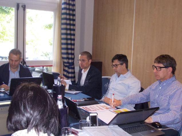 Le riunioni di Sistema. Paolo Micolucci, Roberto Fadda e Sandro Argenti