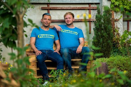 I fondatori Dirk Oschmann e Christoph Kilz; Foto: © Praktiker/Bertram Plischke