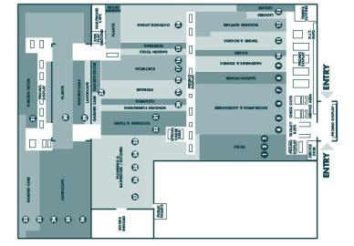 La mappa del punto vendita