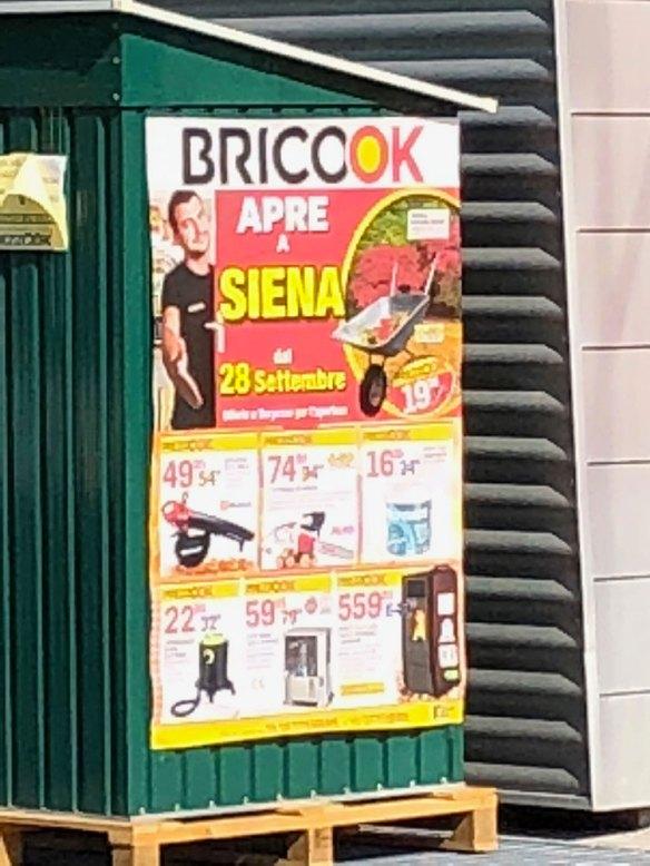 Brico OK a Siena