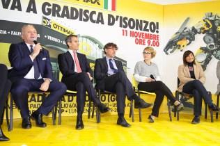 La tavola rotonda per l'inaugurazione di Ottimax a Gradisca d'Isonzo (GO)