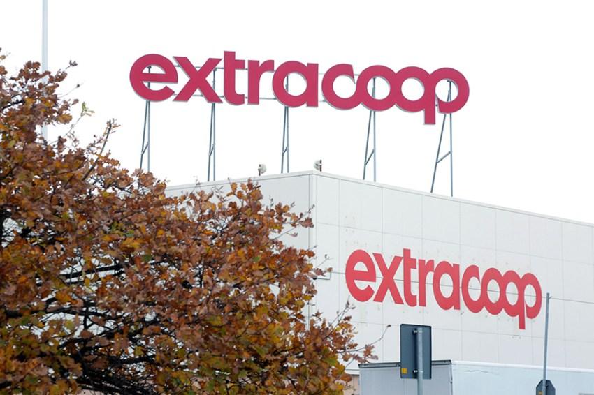 Extracoop. Insegna esterna