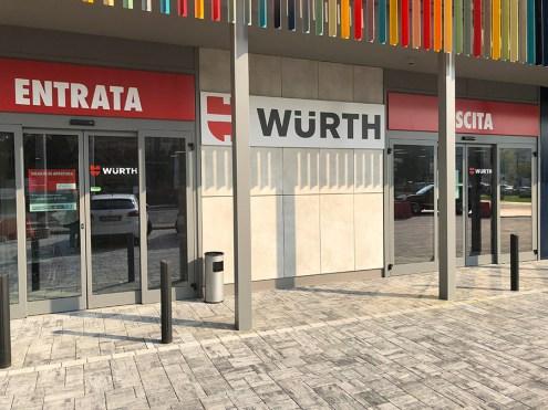 Il negozio Würth di via Emilia Ovest 45