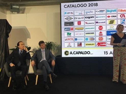Napoli, Siferr 2018 - Capaldo presenta il catalogo