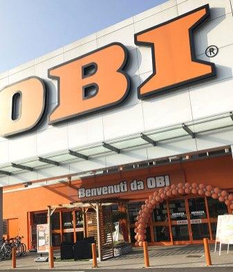Il restyling di OBI Italia a Curno (BG)
