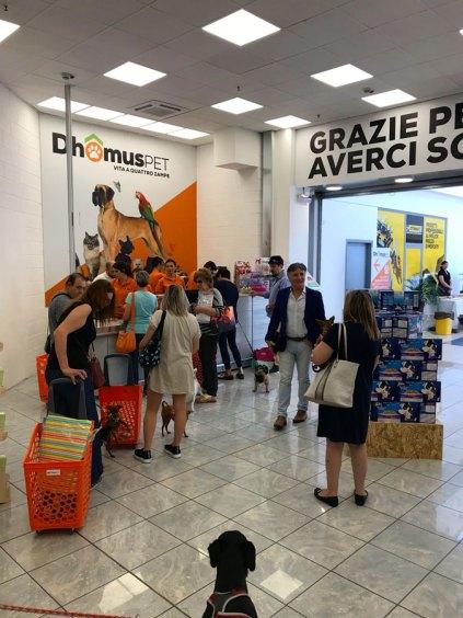 DhomusPET, nuova insegna del Gruppo Bricofer, a Gradisca in Friuli Venezia Giulia