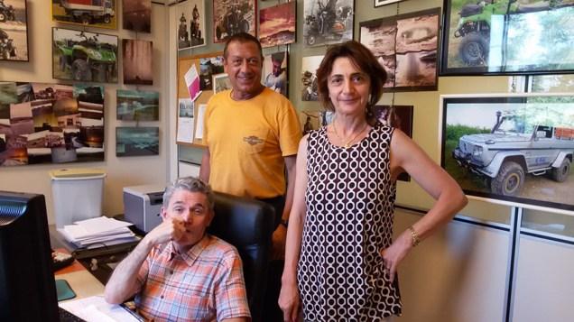 Andrea Majorone, la moglie Liliana e il cognato Giorgio Provera