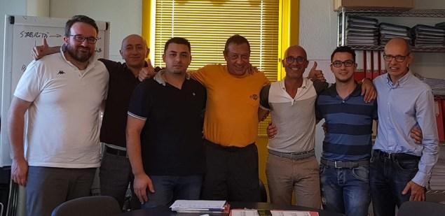 Andrea Majrone e i direttore dei 6 pv Brico OK