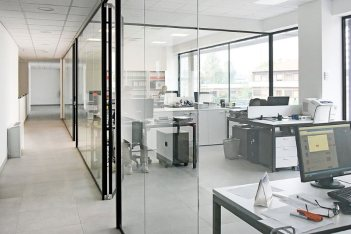 La nuova sede Rinaldo Franco Spa: gli uffici