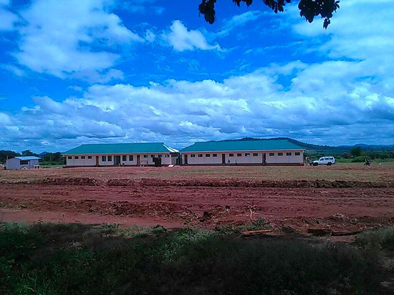 Tanzania, Kongwa: dormitorio