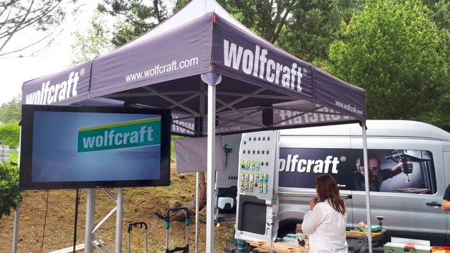 La festa per i 70 anni di Wolfcraft