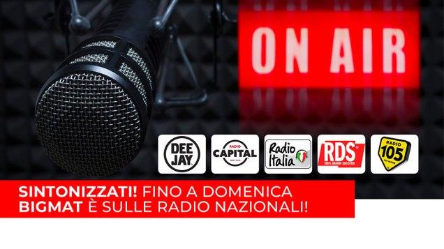 La nuova campagna radiofonica BigMat 2019