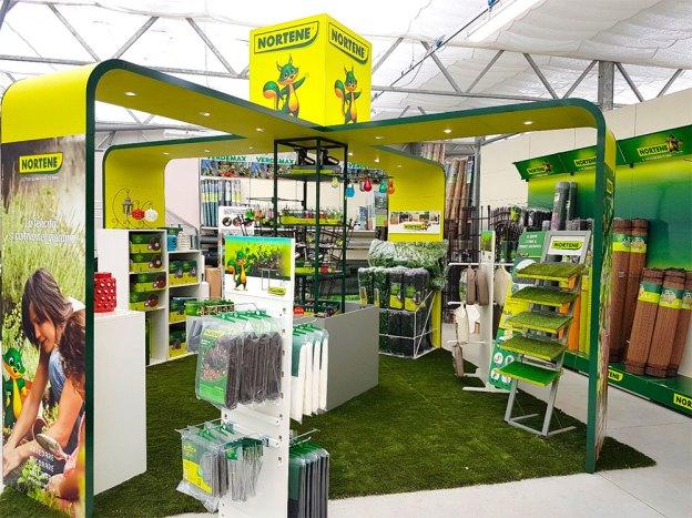 Lo shop in shop Nortene presso il Nicora Garden Center di Varese