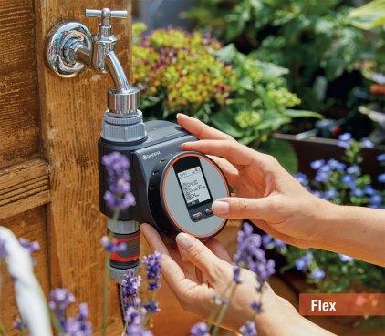 Computer per irrigazione modello Flex di Gardena