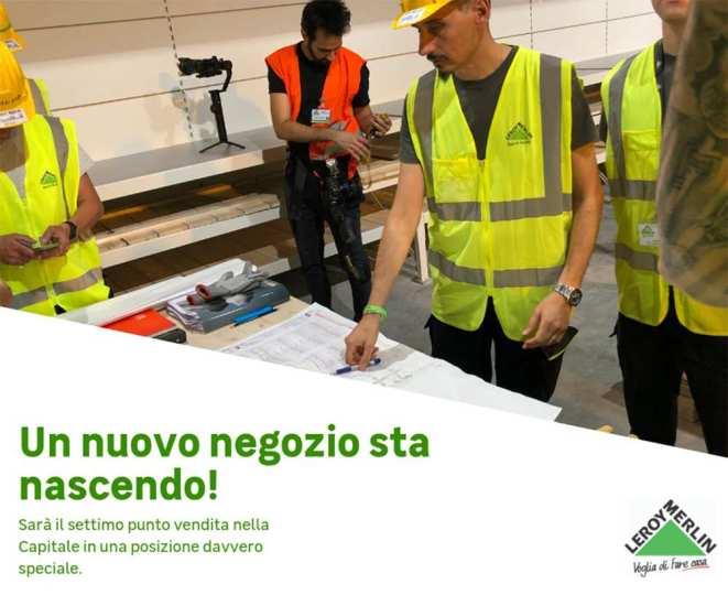 Il nuovo negozio Leroy Merlin aprirà a Roma zona Salaria